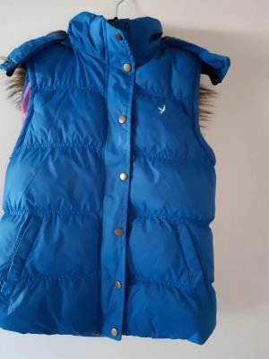 Denim Co. Gilet en duvet bleu fluo