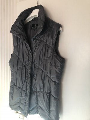 Authentic Quilted Gilet anthracite-dark grey