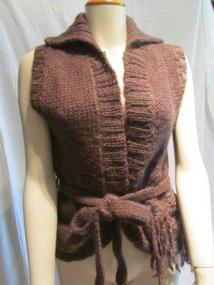 Ärmellose Wolljacke von Zara