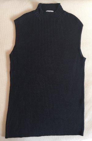 Aust Cardigan en maille fine noir soie