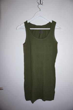 ärmelloses Basic T-Shirt grün