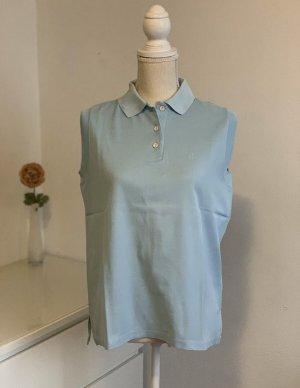 Ärmelloses blaues Golf Polo Shirt von Conte of Florence Gr. 38