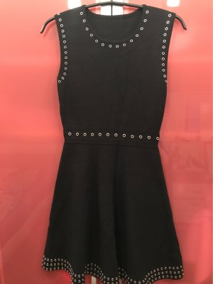 0039 Italy Knitted Dress black