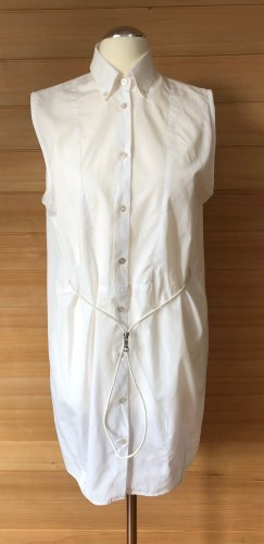 Acne Studios Koszulowa sukienka biały Bawełna