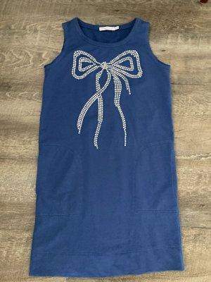 Chloé Vestido de tela de jersey azul aciano
