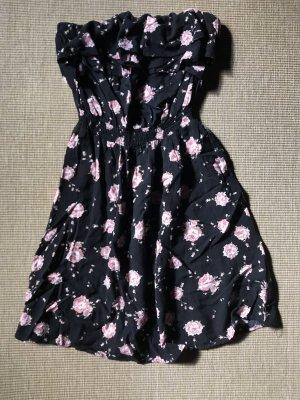 Colloseum Vestido de tubo color rosa dorado-negro