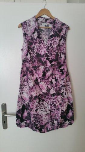 Gina Laura Beach Dress light pink-grey violet spandex