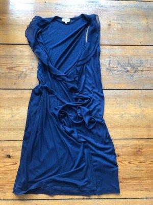 Tom Tailor Kopertowa sukienka ciemnoniebieski Wiskoza