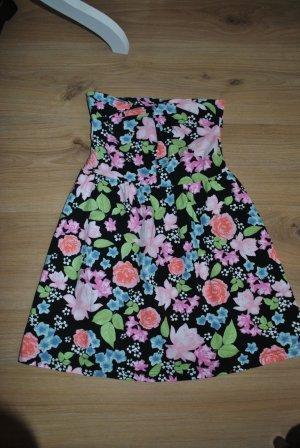 Ärmelloses Kleid mit Blumenprint