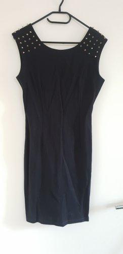 ärmelloses Kleid schwarz