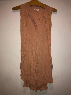 Ärmelloses Kleid zum binden