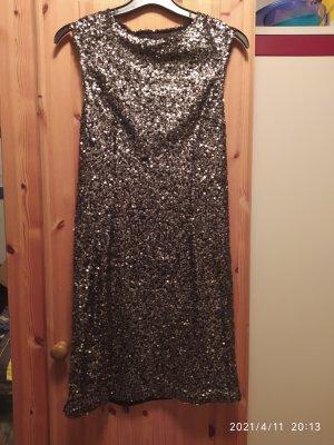 ärmelloses Pailletten Kleid
