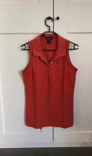 Gant Blusa tipo Polo rojo-rojo ladrillo