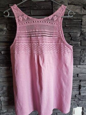 Esprit Crochet Top pink