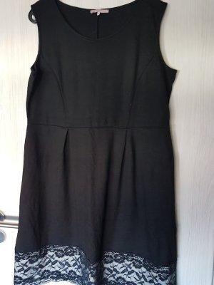 Anna Field Midi-jurk zwart Polyamide