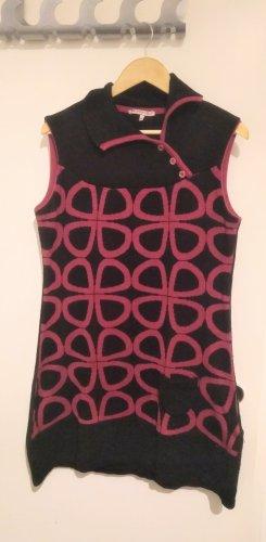 Anna Field Gebreide jurk zwart-violet