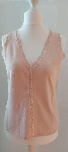 Repeat Top lavorato a maglia rosa antico-rosa pallido