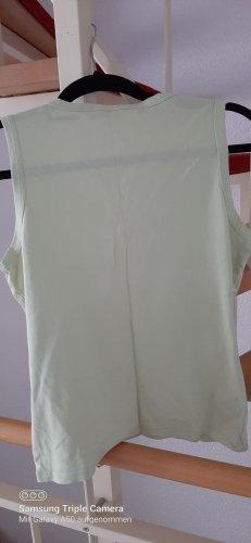 Tommy Hilfiger Koszulka z dekoltem w kształcie litery V bladozielony
