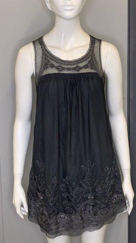 Ärmelloses Überkleid/Longshirt
