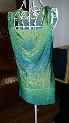 Orsay Cowl-Neck Top forest green-petrol