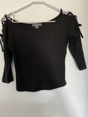 Primark Sweter z krótkim rękawem czarny