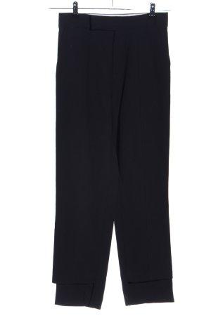 ÁERON Spodnie garniturowe czarny W stylu casual