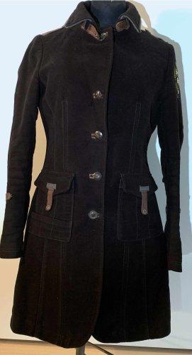 Aeronautica Militare Wollen jas donkerblauw Katoen