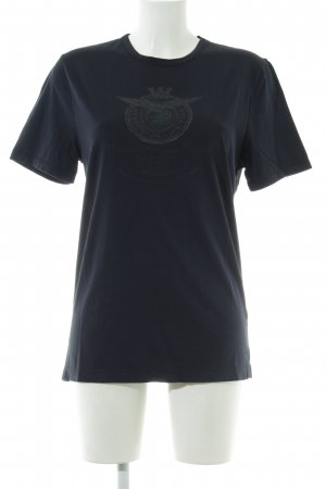 Aeronautica Militare T-Shirt dark blue casual look