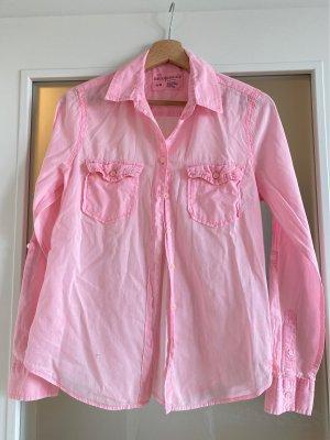 Aeropostale Long Sleeve Blouse neon pink-pink