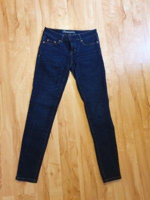Aeropostale Slim jeans donkerblauw