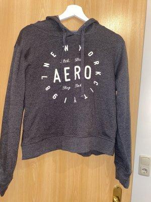 Aeropostale Hooded Sweater grey-dark grey