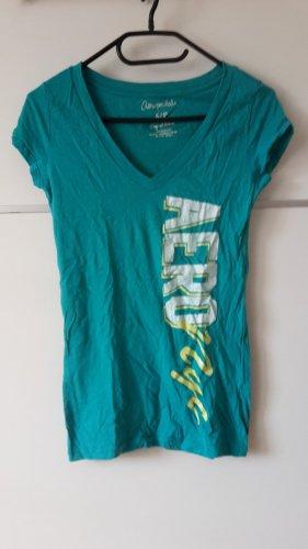 Aeropostale Shirt türkis NYC