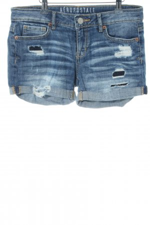 Aeropostale Shorts blau Casual-Look