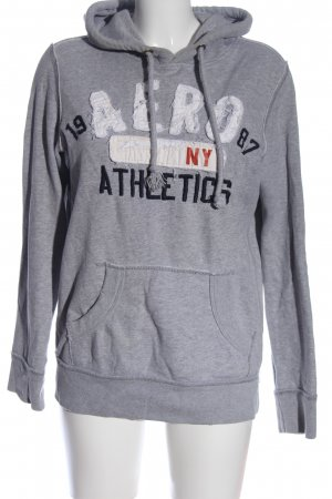 Aeropostale Sweatshirt hellgrau Schriftzug gedruckt Casual-Look