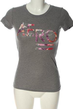 Aeropostale T-shirt grigio chiaro puntinato stile casual