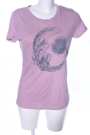 Aeropostale T-Shirt pink themed print casual look