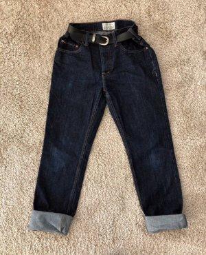 Aeropostale Hoge taille jeans donkerblauw