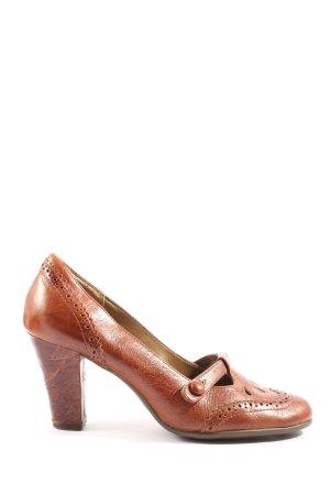 Aerosoles Pumpy Mary Jane  brązowy W stylu casual