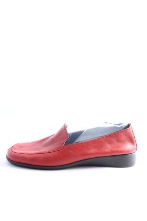 Aerosoles Mokasyny czerwony W stylu casual