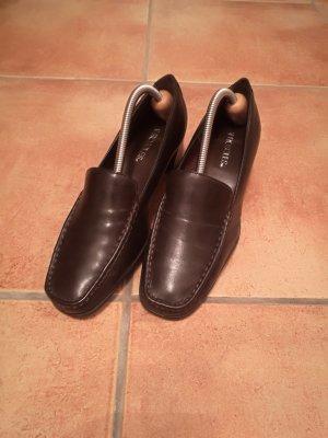 Aerosoles Czółenka czarno-brązowy