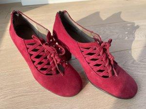 Aerosoles Décolleté stringata rosso mattone-rosso scuro