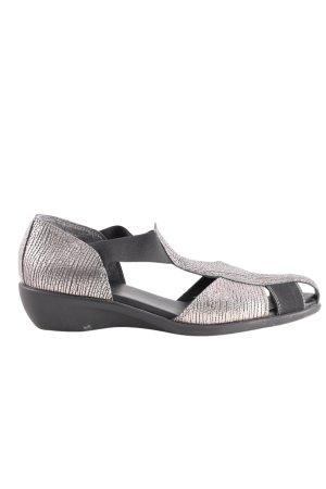 Aerosoles Sandalo con cinturino argento-nero stile casual