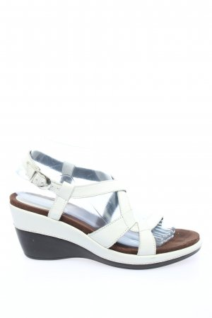 Aerosoles Wedge Sandals white casual look