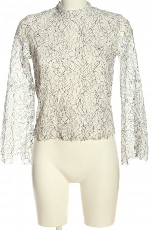Aéryne x NA-KD Long Sleeve Blouse abstract pattern casual look