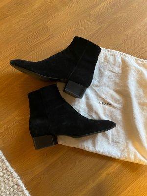 aeyde Botas de tobillo negro