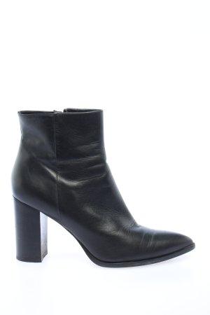 aeyde Reißverschluss-Stiefeletten schwarz Casual-Look