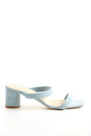 aeyde Strapped High-Heeled Sandals blue casual look