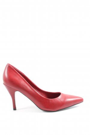AF Tacones altos rojo look casual