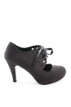 AF High Heels hellgrau Business-Look