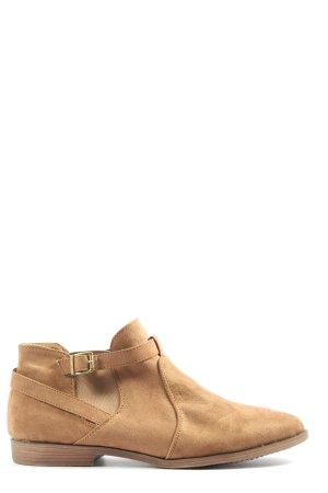 AF Zapatos sin cordones marrón look casual